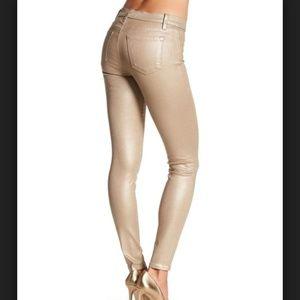 J Brand Super Skinny Photo Ready Stardust Jeans